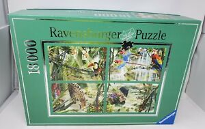 Ravensburger At The Waterhole 18000 Piece Jigsaw Puzzle New