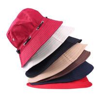 Fashion for Men Women Hip Hop Hiking Fishing Cotton Bucket Hat Sun Hats Cap
