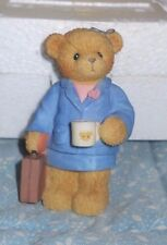 "Cherished Teddies 874671 Katherine ""You're the Best in the Business"" 2000 Nib"