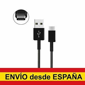 Cable USB Tipo C datos para Huawei Xiaomi Samsung Smartphone negro