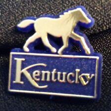 Eight Kentucky Gold Horse Lapel Pin Lot