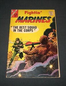 "Fightin' Marines silver age Charlton comic, 1967 #75 ""Best Squad in the Corps"""