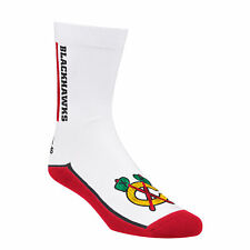 Chicago Blackhawks Side Wordmark Crew Socks