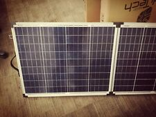 Beautiful high efficiency 100W Folding Poly Solar Panel with Silver Alu Frame