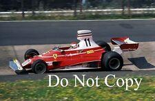 Clay Regazzoni Ferrari 312 T German Grand Prix 1975 Photograph