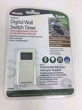 Westek TMDW40 Hardwire Indoor Digital Wall Switch Timer White