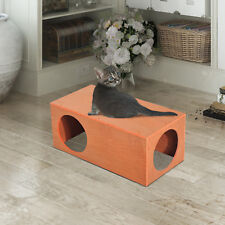 Cat House Pet Kitty Home Outdoor Play Rabbit Cage Durable Garden Waterproof