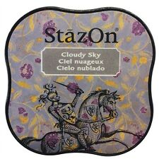 StazOn Midi Ink Pad - Cloudy Sky