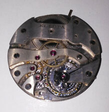 Vintage High grade Electa pocket watch movement  18 size