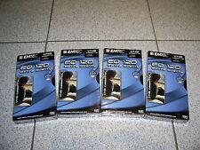 4 x EMTEC (BASF) EQ 120, Extra Quality, E-120 VHS Videocassetten  NEU+OVP !!!