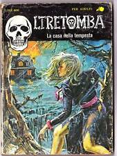 1983 Italian erotic horror comic OLTRETOMBA LA CASA NELLA TEMPESTA