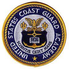 "Academy New London Connecticut 4.6"" W5500 USCG Coast Guard patch"