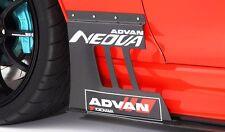 Ridox Varis Style Carbon Fiber Front Fender Panels Diffuser Supra MK4 2JZ JZA80