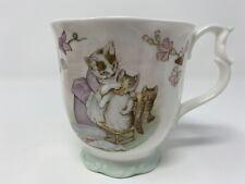 Royal Albert Bone China Beatrix Potter Tom Kitten Mug Cup F.W&Co. England