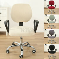 Swivel Computer Chair Cover Stretch Office Armchair Slipcover Seat Protector