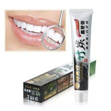 100g Bamboo Activated Charcoal Black Toothpaste Stains Remover Teeth Whitening