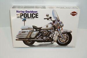 IMEX Harley-Davidson U S Police 1994 Electra Glide Model Kit 1/12 Scale Sealed