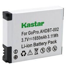 1x Kastar Battery for GoPro AHDBT-001 AHDBT-002 HD HERO1 HERO2 HD HERO