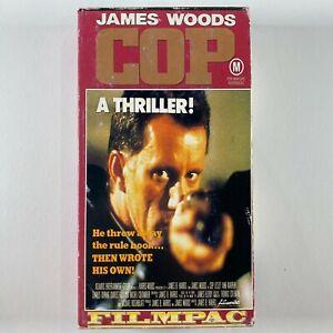 James Wood COP VHS RARE 80'S action video