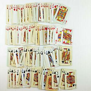 JACK Playing Cards, 100 Cards - Junk Journal Supplies, Ephemera, Collage