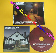 CD THE COOPER TEMPLE CLAUSE See This Through And Leave 2002  no lp mc dvd (CS8)