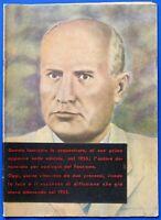 Pino Rauti - Benito Mussolini - Fascicolo sequestrato - ed. 1957