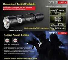 Klarus XT11S aufladbare Taktische LED Taschenlampe + Akku+ Halterung + Ladekabel