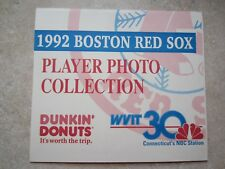 1992 Boston Red Sox Player Photo Collection - Perforated Cards w/Stats- 30 Cards