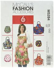 Mccall's Patterns M5284 All Sizes Aprons Pack of 1 White