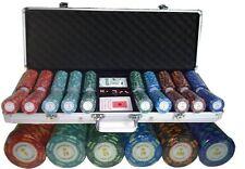 Maletin poker Montecarlo 500 Fichas NUMERADAS (Nuevos¡¡  Somos Tienda de poquer)