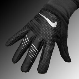 Nike Therma-FIT Elite 2.0 Run Gloves Black/Silver Men's Sz. Medium,Large,XLarge