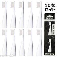 Panasonic ToothBrush replacement EW0958-W-5SET 2×5(10Packs) for Poket Doltz