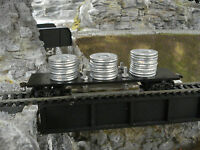 HO train track cleaner car kit