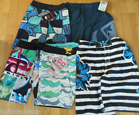 Quiksilver swim board shorts boy 9-10, 11-12, 13-14, 15-16 y BNWT beach
