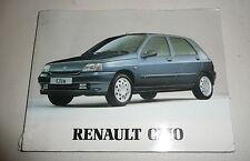 Renault Clio MK1 Owners Manual Book