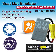 Airbag passager Seat Occupancy Sensor Emulator Mercedes CLK W208 W209 W203