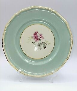 """Royal Tettau Germany US Zone  Melrose Salad/Luncheon Plate - 8 1/4""""  8 Available"""
