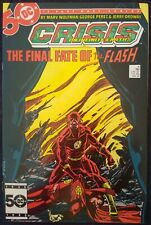 Crisis on Infinite Earths #9 NM Death of Barry Allen
