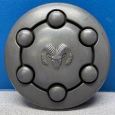 ONE 1991-1997 Dodge Dakota # 2003 15x6 Steel Wheel Black Center Cap OEM 52006104