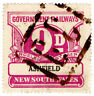 (I.B) Australia - NSW Railways : Parcel Stamp 9d (Ashfield) inv watermark
