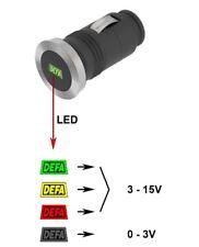 DEFA indicador de voltaje de 701758 del estado de la Batería Enchufe Para Coche Bus Camión Tractor