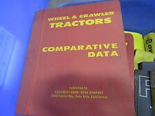 COMPARATIVE DATA WHEEL & CRAWLER TRACTORS