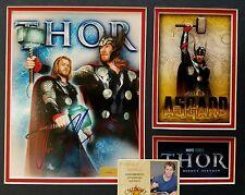 Chris Hemsworth Hand Signed 11x14 EXACT PROOF CA COA Collage Thor Avengers Cast