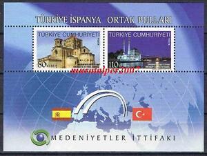 TURKEY 2010, ALLIANCE OF CIVILIZATIONS TURKEY - SPAIN MNH