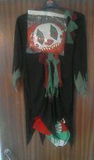 Scary clown costume Halloween Party fancy dress Children age 11 - 12 BNWT