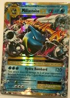 MEGA Blastoise EX ULTRA RARE 22/108 Pokemon Card TCG XY Evolutions HOLO NM