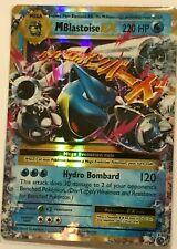 MEGA Blastoise EX ULTRA RARE 22/108 Pokemon Card TCG XY Evolutions HOLO NM