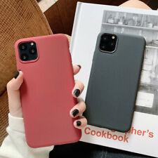 For iPhone 11 Pro Max Soft TPU Silicon Sandstone Matte Ultra-Thin Cover Case