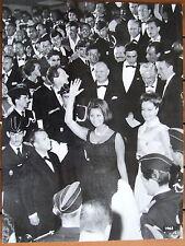 SOPHIA LOREN ROMY SCHNEIDER ALAIN DELON PHOTO FESTIVAL DE CANNES 1963
