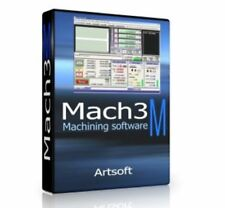 Mach 3 Artsoft CNC Software Control Mill Lathes Engraving